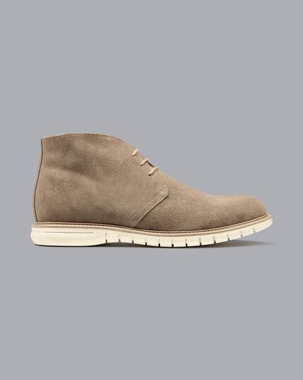 Suede Desert Boots - Mocha