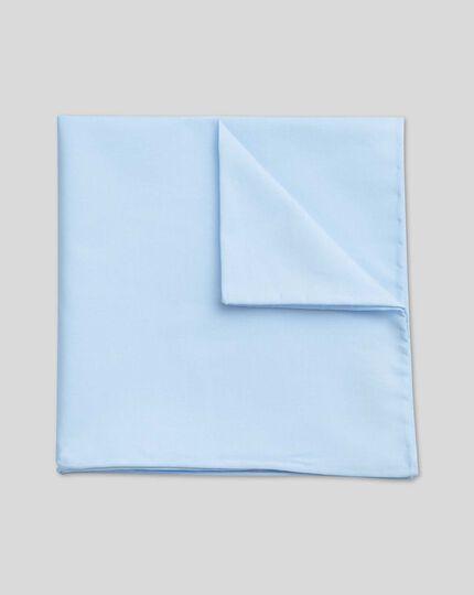 Cotton Pocket Square - Sky
