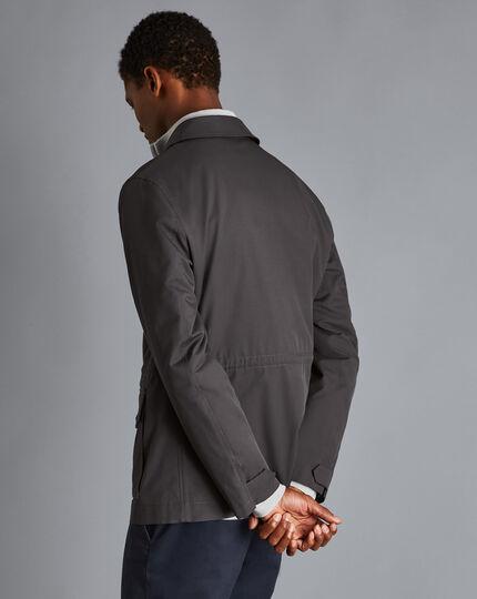 Showerproof Field Jacket - Charcoal