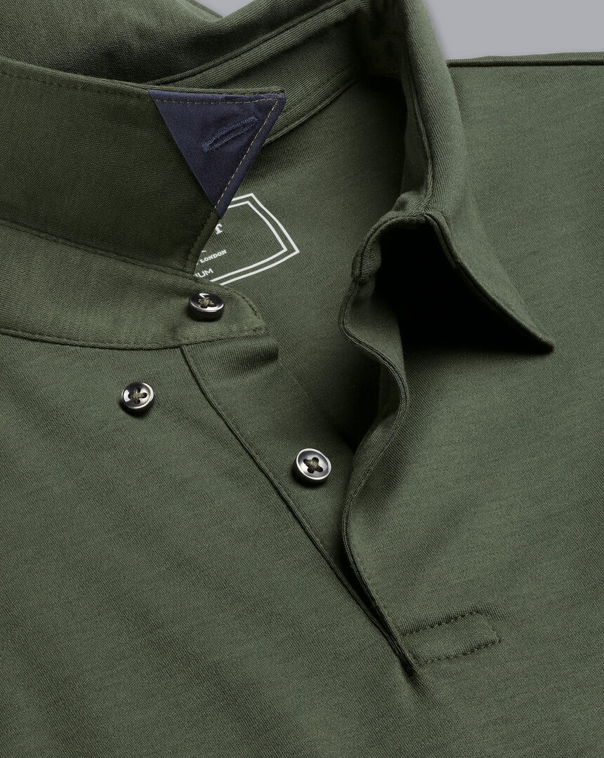 Smart Jersey Polo - Olive