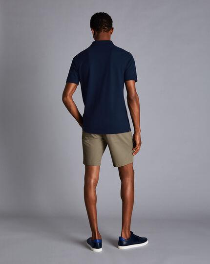 Chino-Shorts - Grün