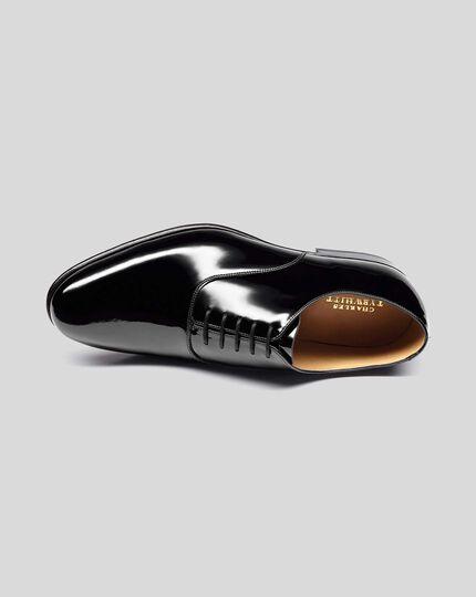 Patent Oxford Shoes - Black