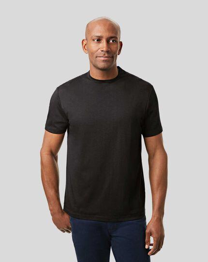 Smart Jersey Tyrwhitt T-shirt - Black