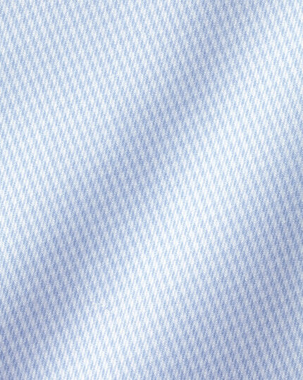 Non-Iron Puppytooth Shirt - Sky Blue