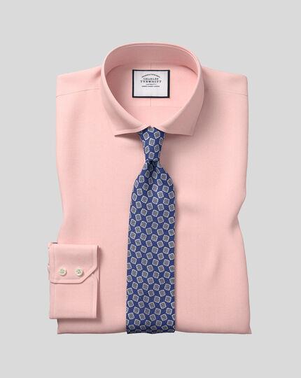 Cutaway Collar Stretch With TENCEL™ Shirt - Peach