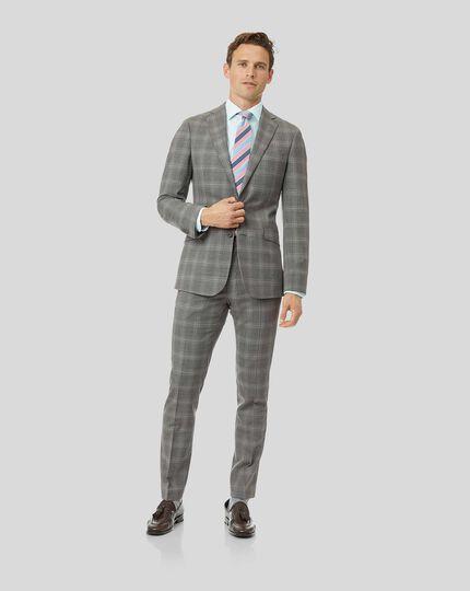 Check Suit - Light Grey