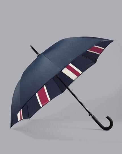 Union Jack Classic Umbrella - Petrol Blue & Red