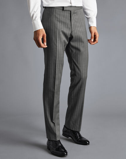 Morning Suit Trousers - Charcoal