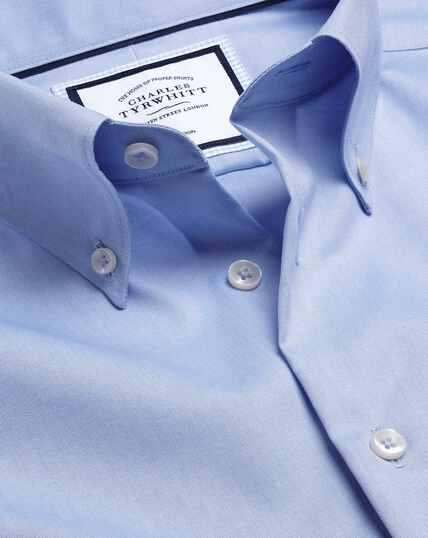 Button-Down Collar Non-Iron Shirt - Sky