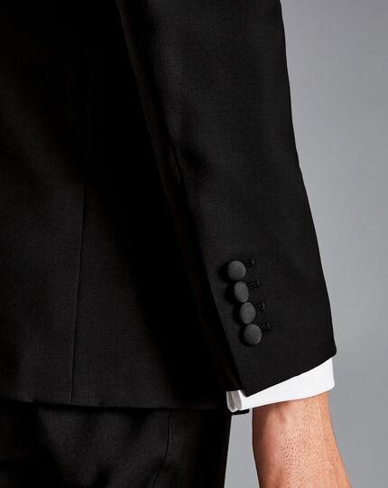 Peak Lapel Dinner Suit - Black