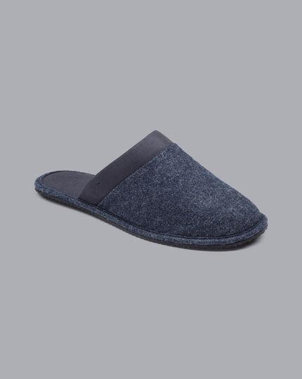 Slippers - Denim Blue