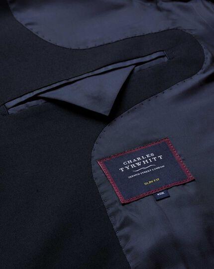 Italian Cotton Suit Jacket - Navy