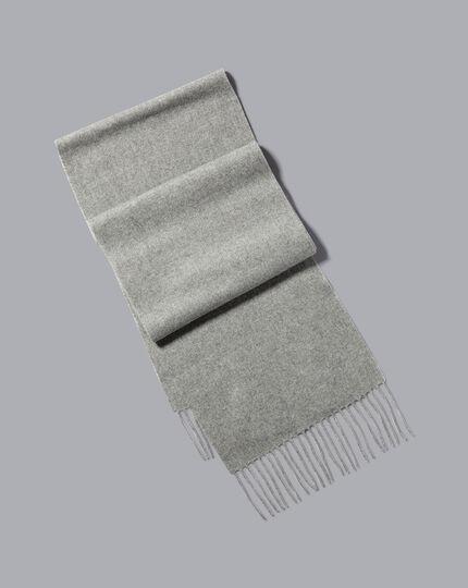 Cashmere Scarf - Grey