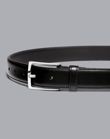 Leather Formal Belt - Black