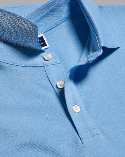 Tyrwhitt Piqué-Polo - Kornblumenblau
