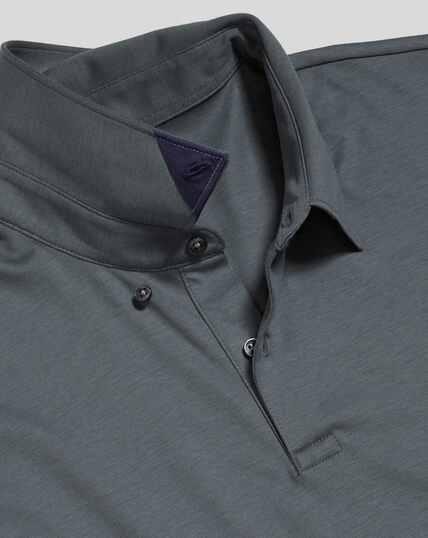 Smart Jersey Polo - Slate