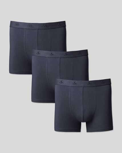 3er-Pack Stretch-Unterhosen aus Jersey -  Französisches Bla