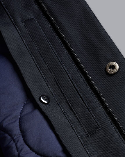 2-in-1 Raincoat - Navy