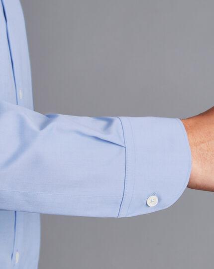 Button-Down Collar Non-Iron Shirt - Sky Blue