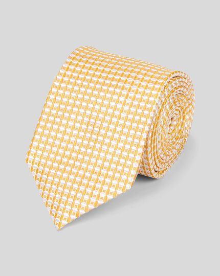 Silk Tie - Yellow