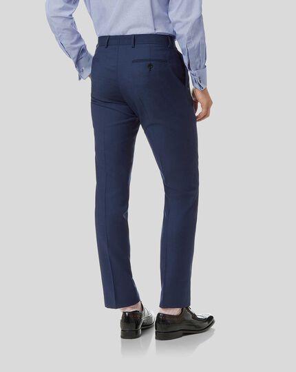 Herringbone Suit - Royal Blue