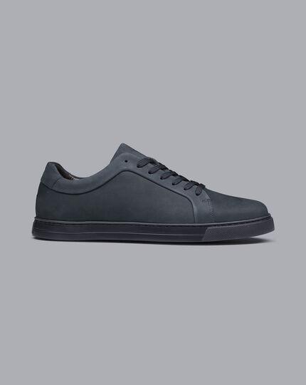 Nubuck Sneakers - Steel Blue