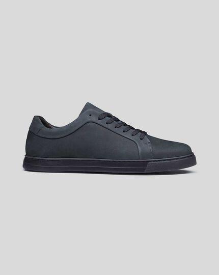 Nubuck Sneakers - Navy