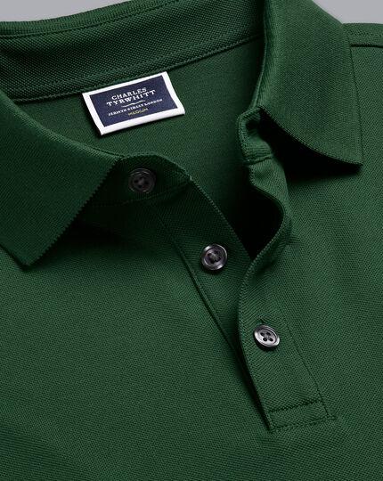 Tyrwhitt Piqué-Polo - Waldgrün