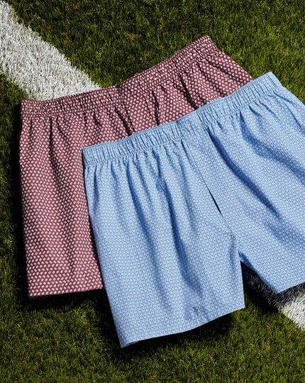 England Rugby Woven Boxers - Blue