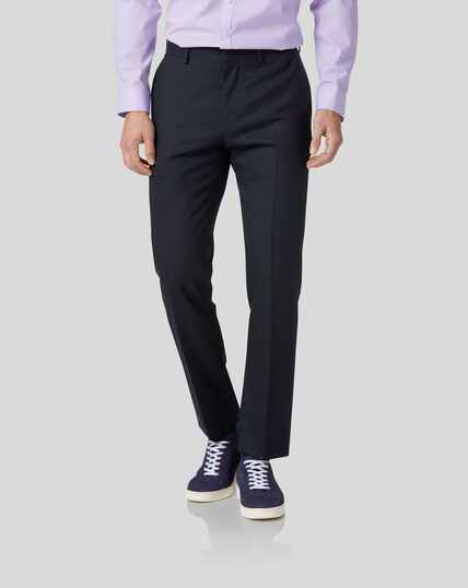 Business Suit Pants - Midnight Blue