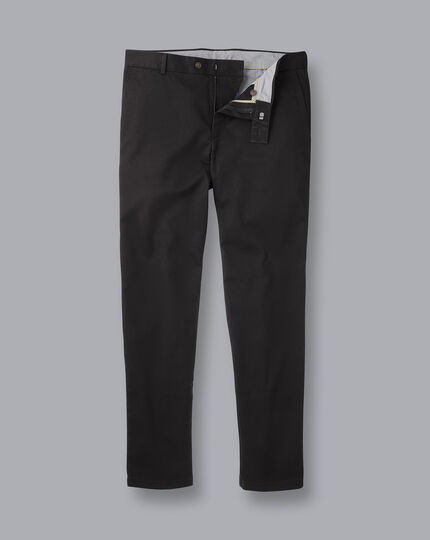 Ultimate Non-Iron Chinos - Black