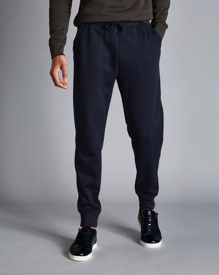 Jersey Joggers - Navy