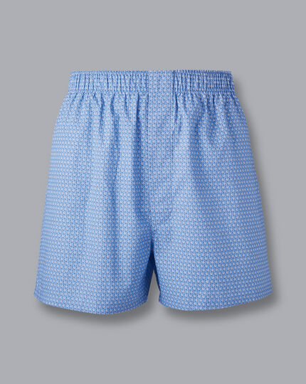 England Rugby Woven Boxers - Cornflower Blue