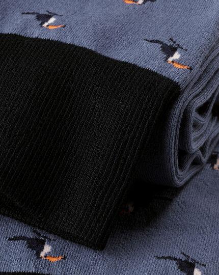 Toucan Socks - Blue
