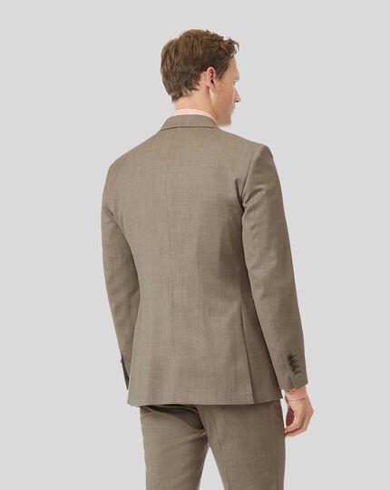Herringbone Suit Jacket - Fawn