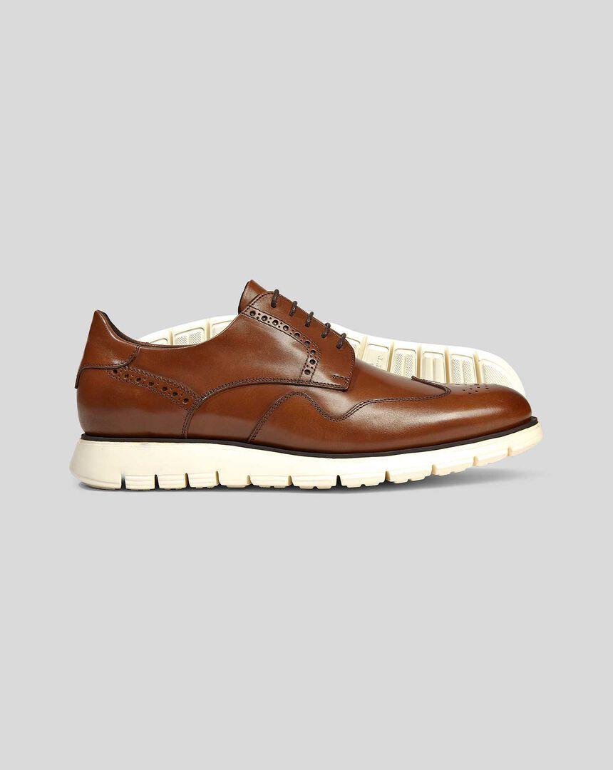 Hybrid Trainers - Chestnut Brown