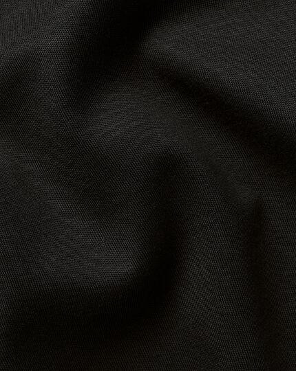 Smart Long Sleeve Jersey Polo - Black