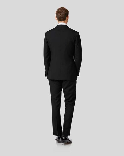 Peak Lapel Tuxedo - Black