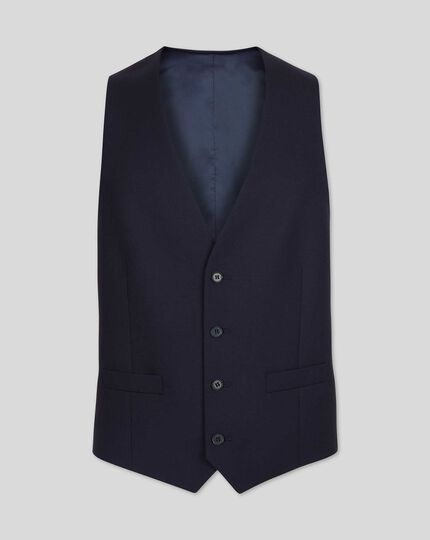 Twill Business Suit - Navy