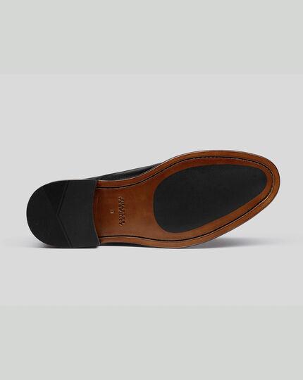 Flex Sole Derby Shoes - Black