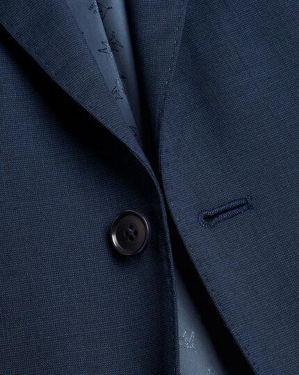Pindot Travel Suit Jacket - French Blue