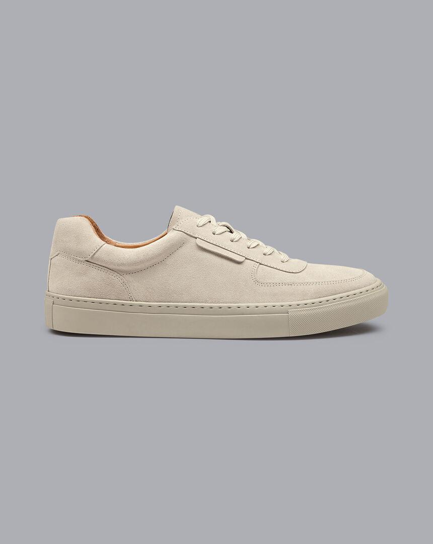 Suede Sneakers - Grey
