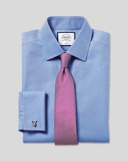 Non-Iron Royal Oxford Shirt - Blue