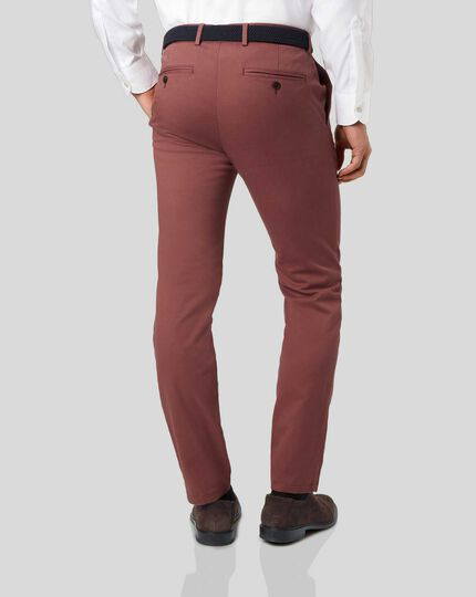 Ultimate Non-Iron Chinos - Red