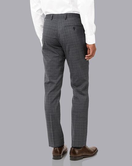 Crosshatch Suit - Grey