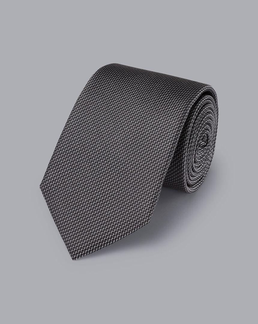 Silk Tie - Grey