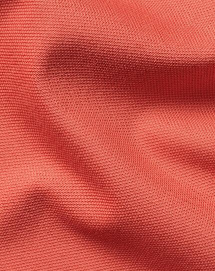 Tyrwhitt Pique Polo - Orange