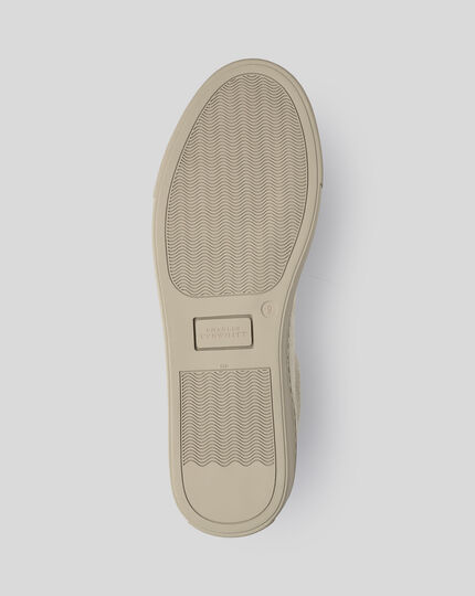 Suede Sneakers - Oatmeal