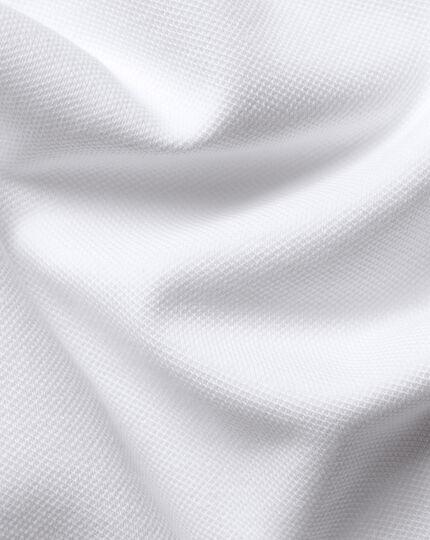 England Rugby Pique Polo - White