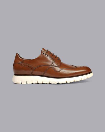 Hybrid Sneakers - Tan